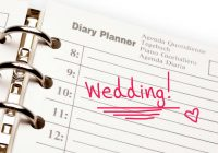 HOW TO PLAN A WEDDING?